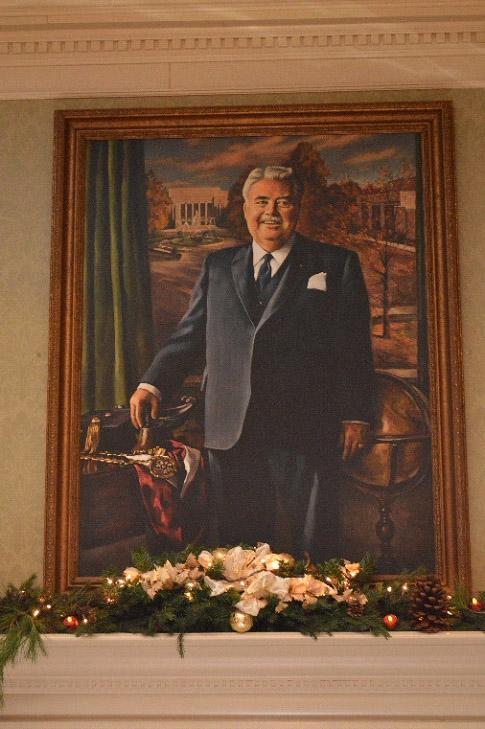 Art Within the UClub - Herman B Wells Portrait
