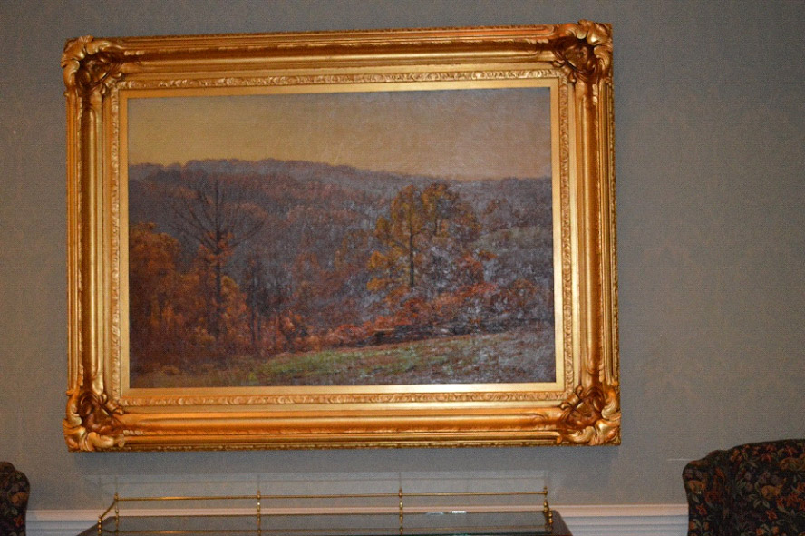 UClub Art Within the UClub - TC Steele Paintings