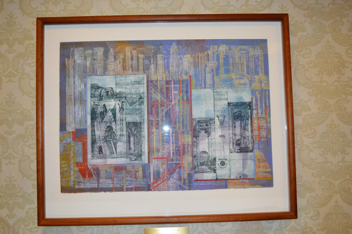 University Club of Indiana University - Pozzatti Prints