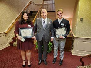 IU University Club 2019 Scholarship Program - University Club member Dr. John Thiel matching scholarship gift